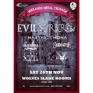 Image of FINAL SHOW! Midlands Metal Crusade - Ticket