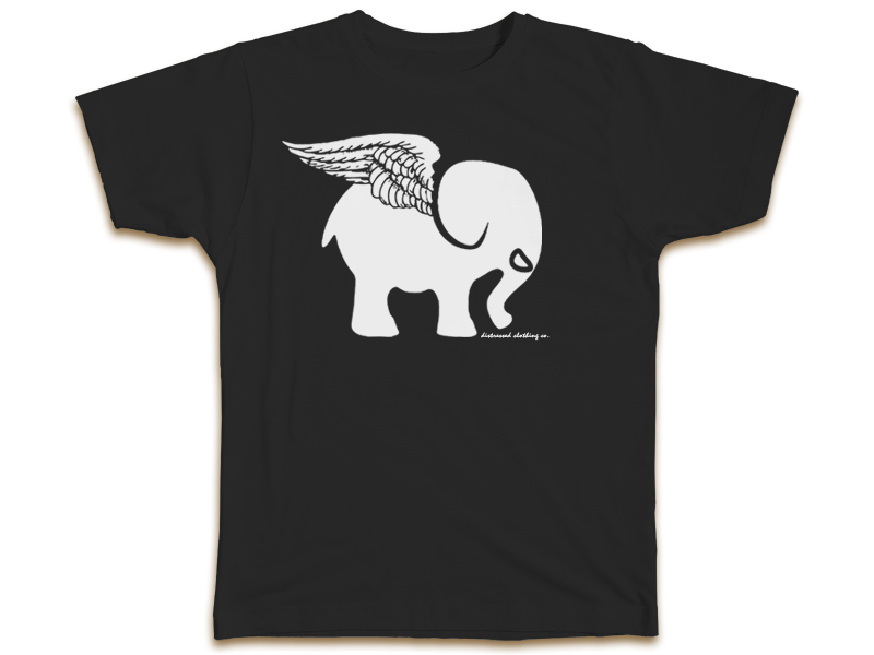 Image of Iconic Logo Tee In Black