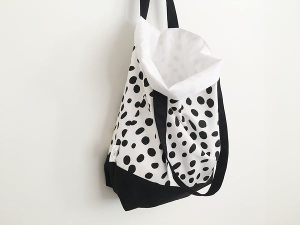 Image of Tote Bag in Spots