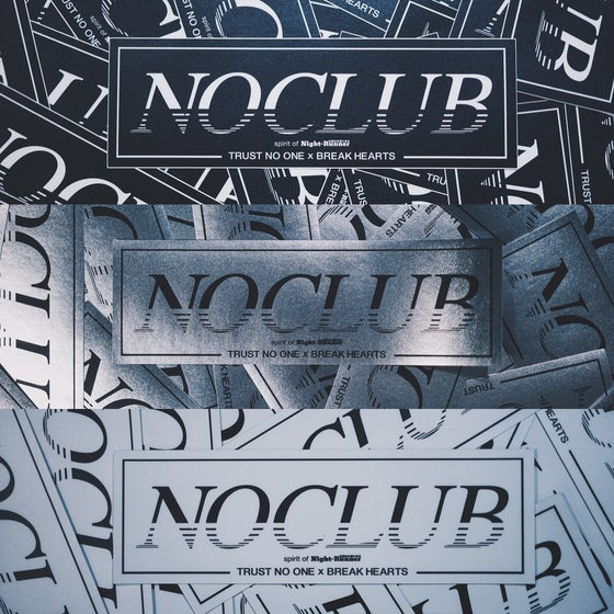 Image of NOCLUB: Spirit of Nightrunner Decal