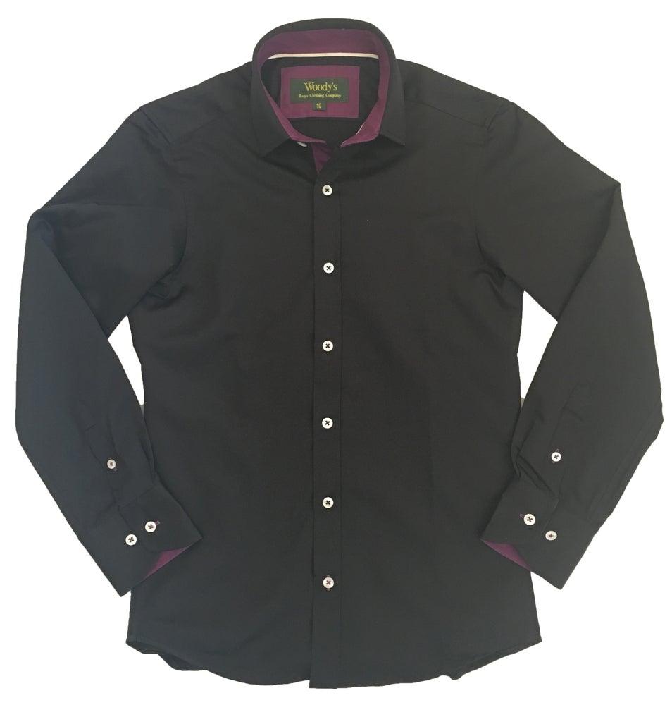 Image of Black w/Purple Party Shirt