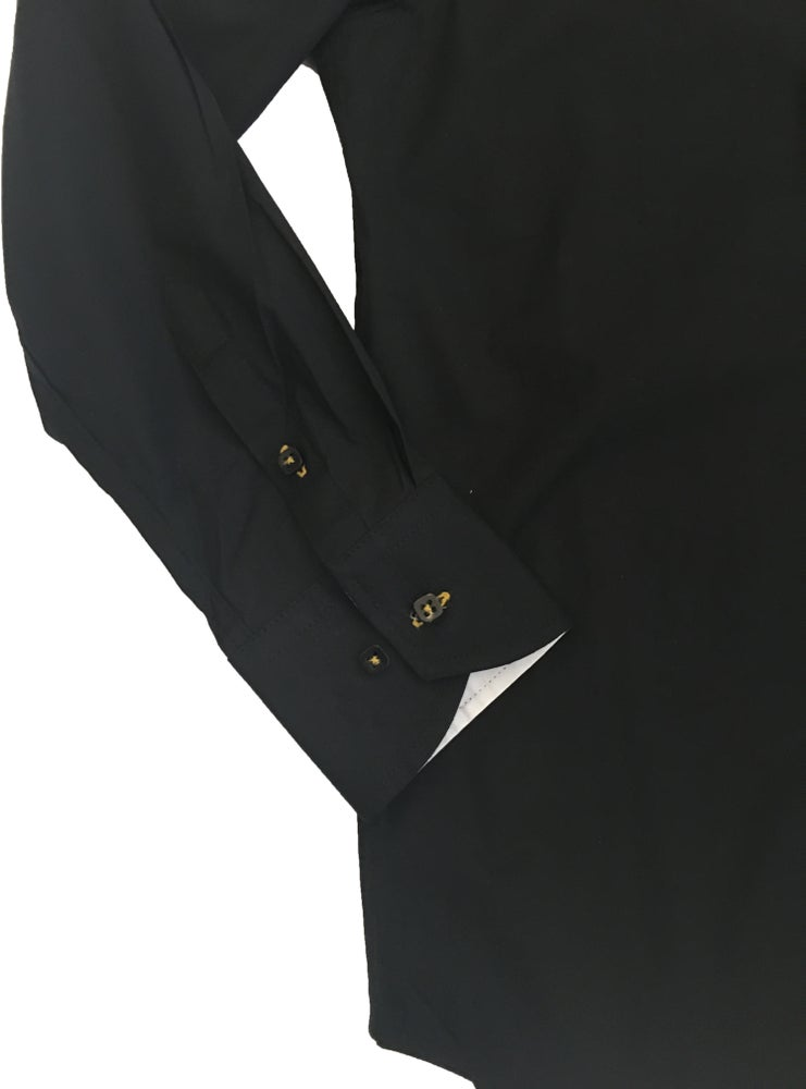 Image of Black w/White Party Shirt