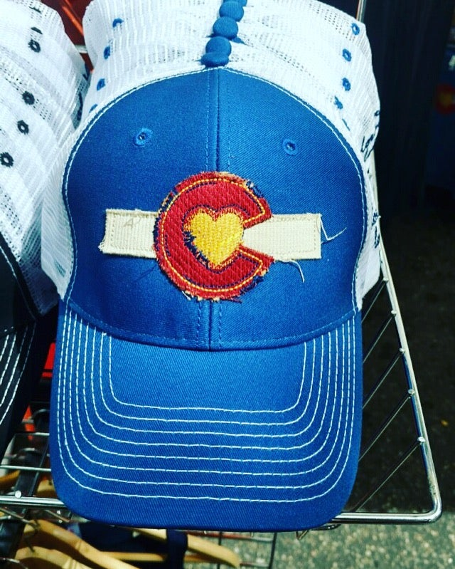 Image of Colorado Love Trucker Hat - Royal