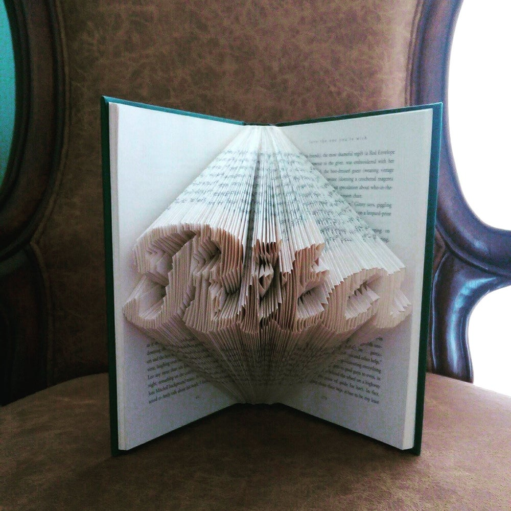 Image of Personalized name folded book