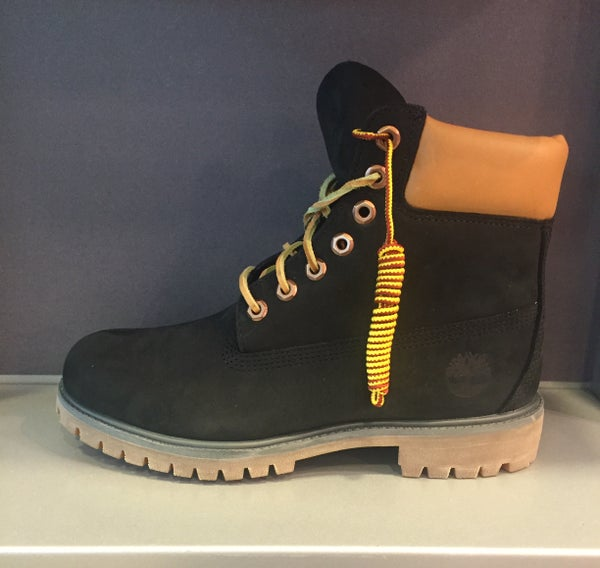 Image of BLACK TIMBERLAND 6""