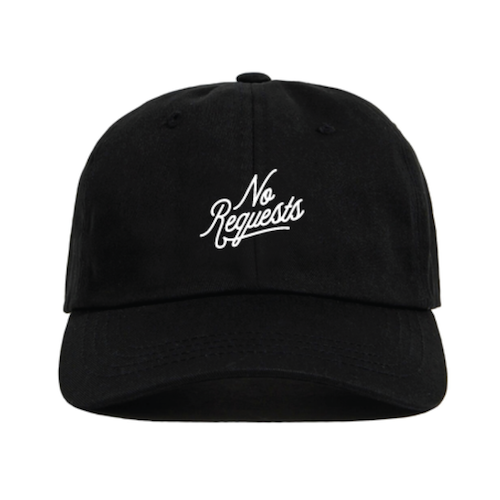 Image of NO REQUESTS DAD HAT (Black)