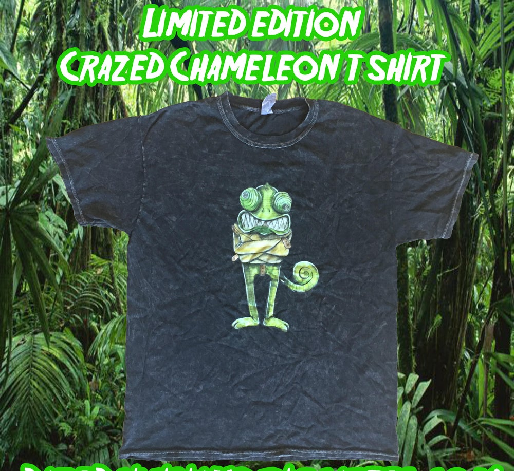 Image of Crazed Chameleon Tee