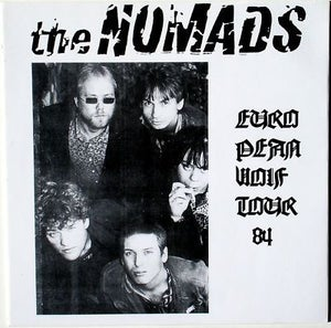 Image of LP The Nomads : European Wolf Tour. Ltd Edition from early 90's.