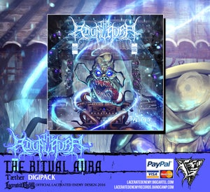 Image of THE RITUAL AURA - Tæther - DIGIPACK