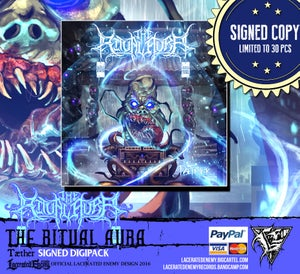 Image of THE RITUAL AURA - Tæther SIGNED Digipack • Limited