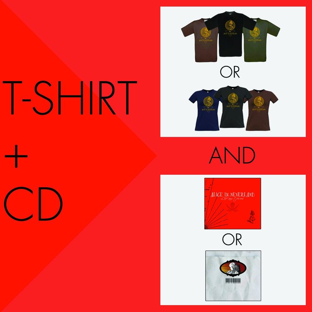 Image of Pack T-shirt + CD