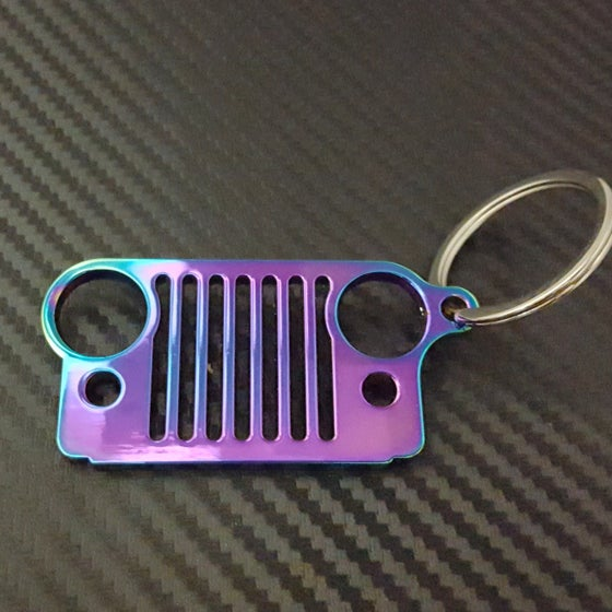 Image of Jeep Grill Keychains