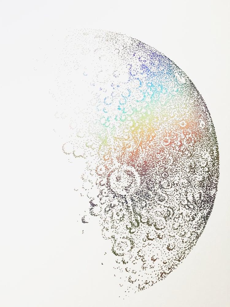 Image of Holographic Half Moon