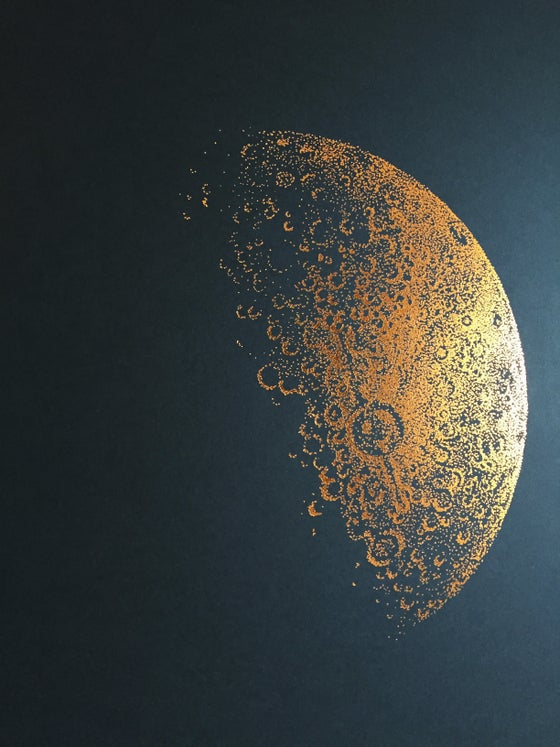 Image of Copper Foil Half Moon