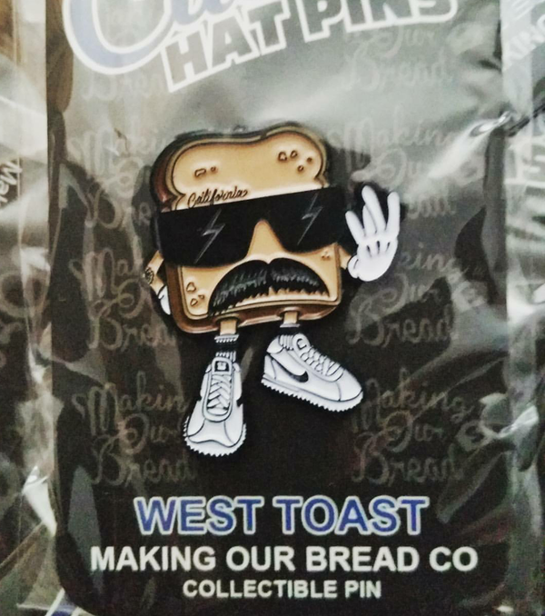Image of West Toast Pin