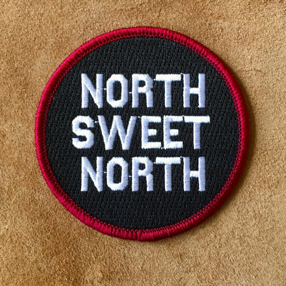 Image of North Sweet North - Iron on Patch