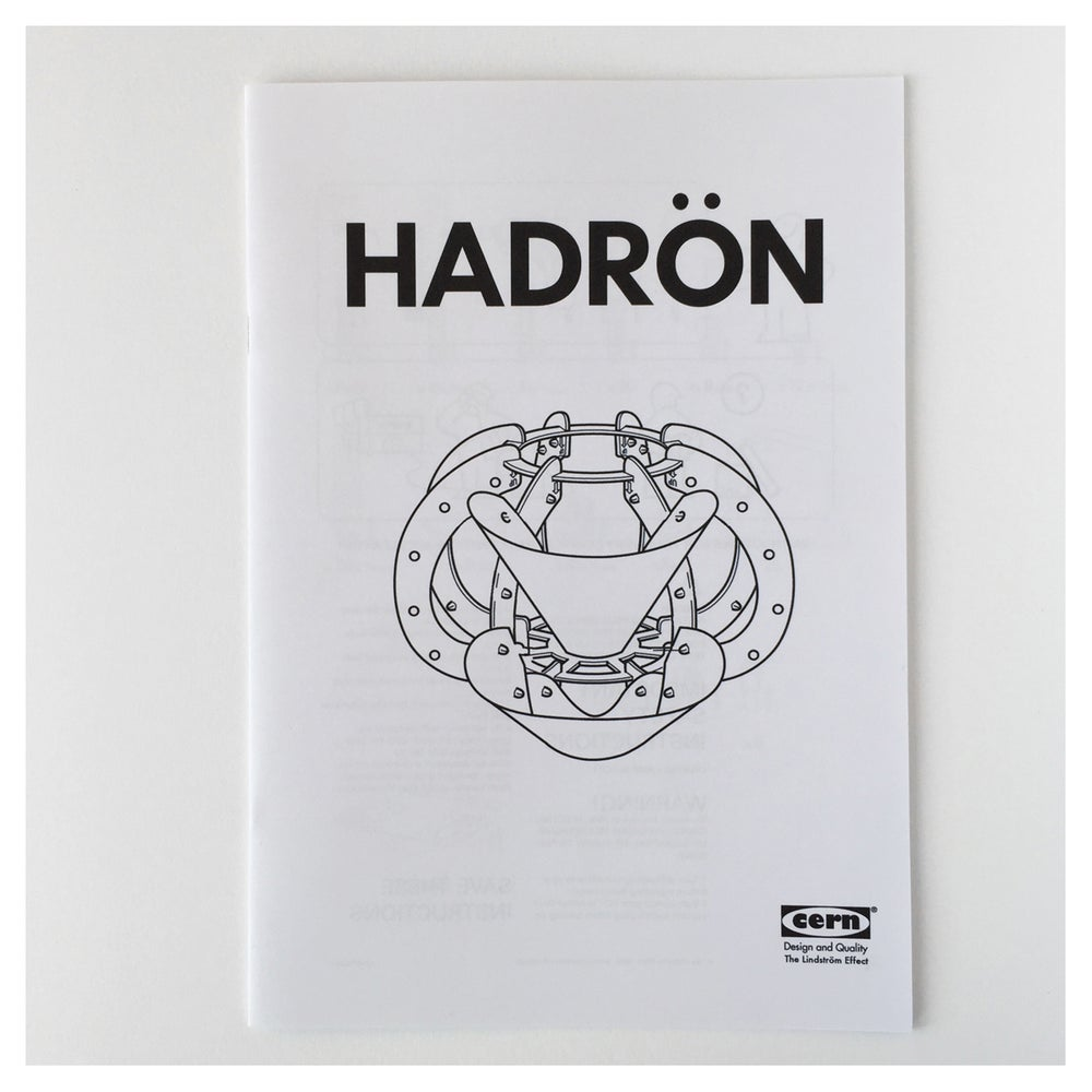 Image of Hadron Zine- the flat pack particle accelerator