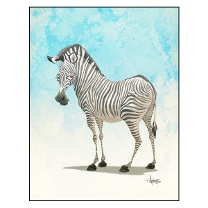 "Image of ""One of A Kind"" Zebra Print"