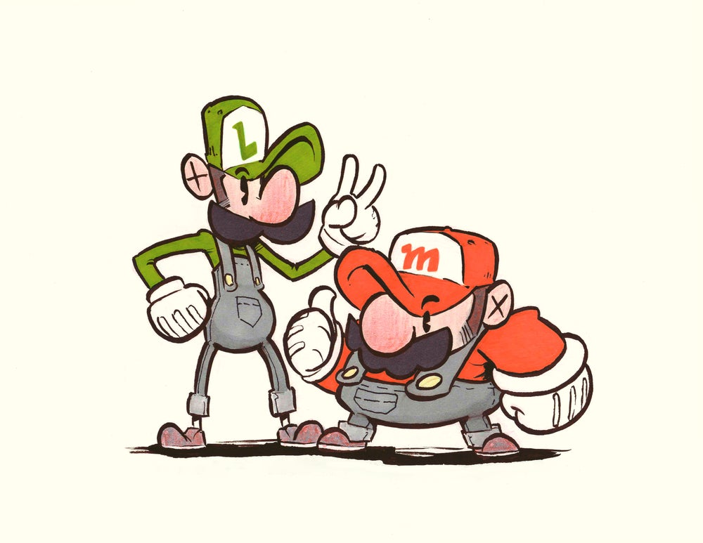 Image of Mario Bros. Print