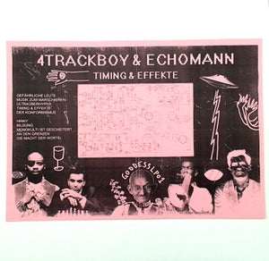 Image of 4Trackboy & Echomann - Timing & Effekte - LP (GROOVE ATTACK RECORDS)