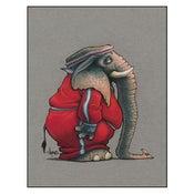 "Image of ""Elephant Jogger"" Print"