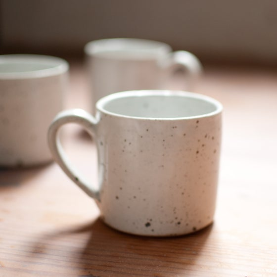 Image of White Mugs