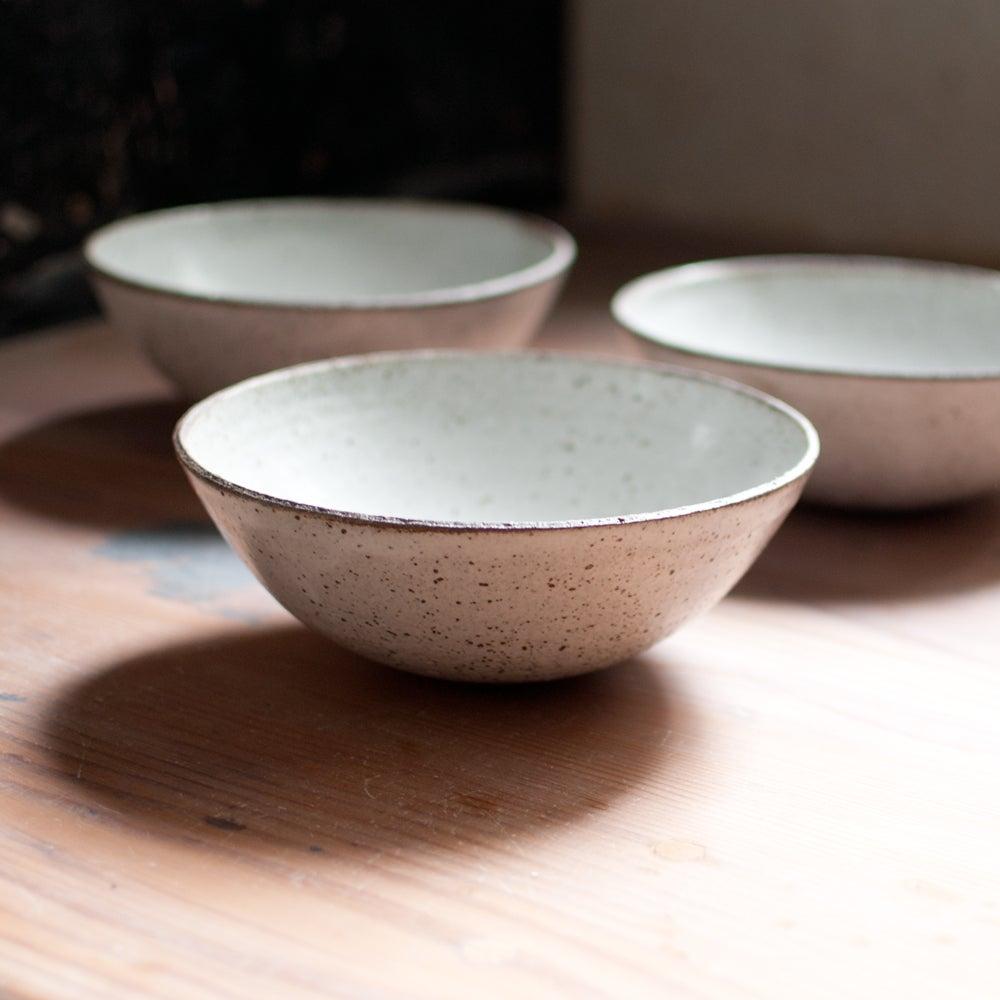 Image of Raw Rimmed Dinner Bowl