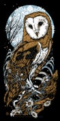 Image of LECHUZA - Barn Owl - art print