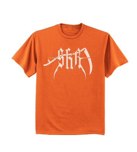 Image of NEW SKR Logo Shirt (Orange)