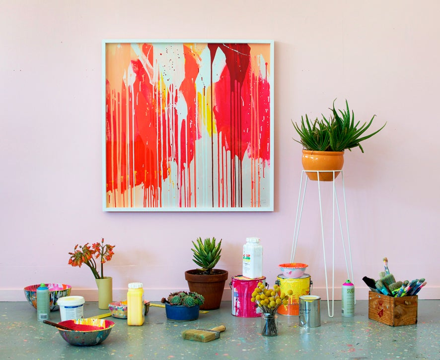 Image of Grapefruit Fizz Print