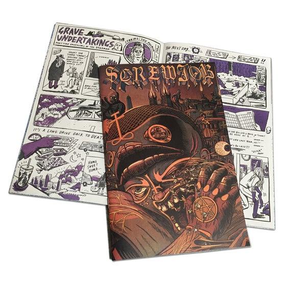 Image of SCREWJOB #4 - WRESTLING COMIC ANTHOLOGY