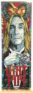 Image of IGGY POP - Post Pop Depression - gigposter - HOLO VARIANT.