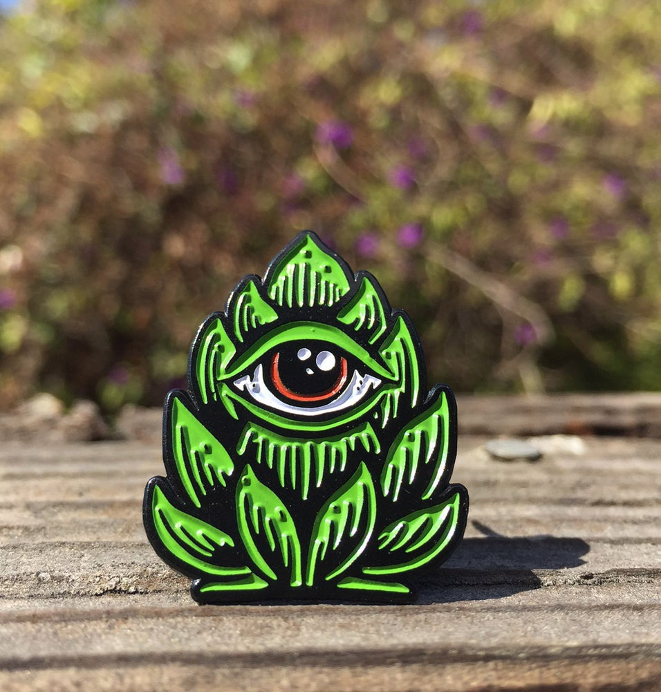 """Image of """"Hop Eye"""" enamel pin"""