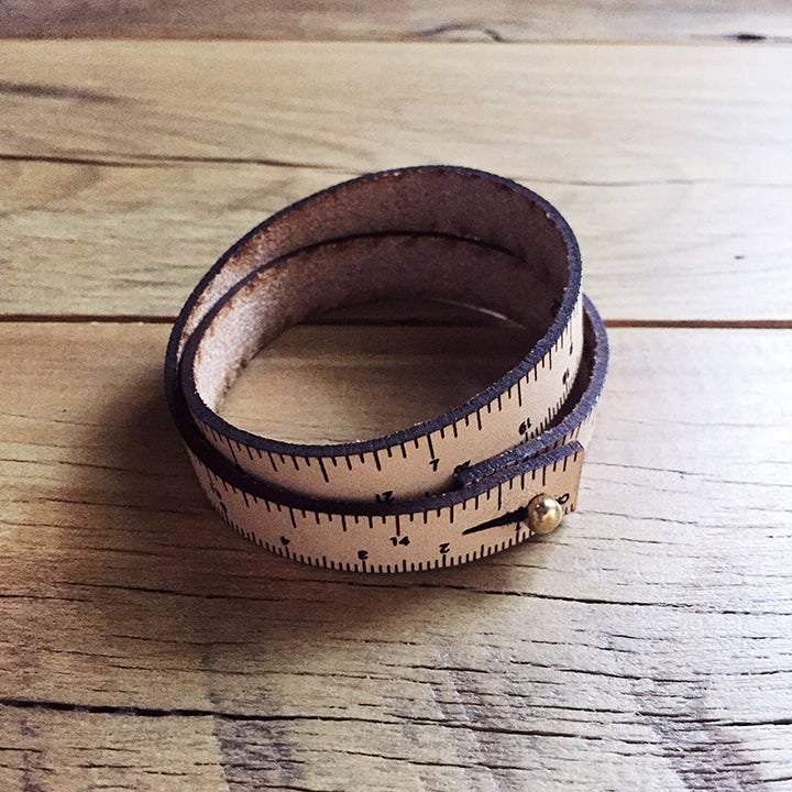 Image of Leather wrist ruler