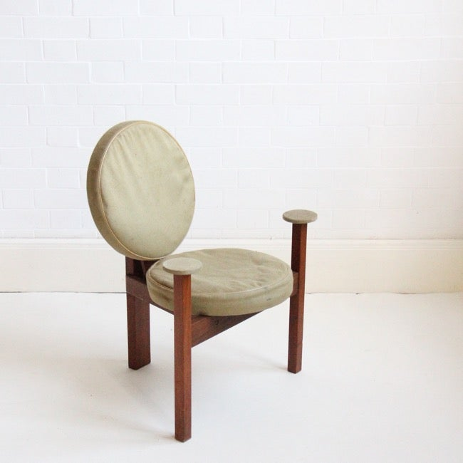 Image of Circular chair by Bent Møller Jepsen, 1961