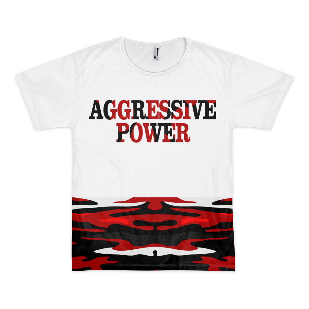 Image of Aggressive Power (Camouflage Back)