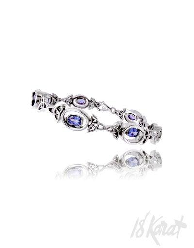 Marlene's Sapphire Bracelet - 18Karat Studio+Gallery