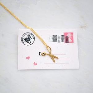 Image of Scissors necklace