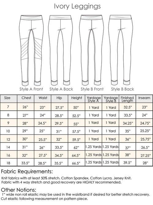 Image of Ivory Leggings