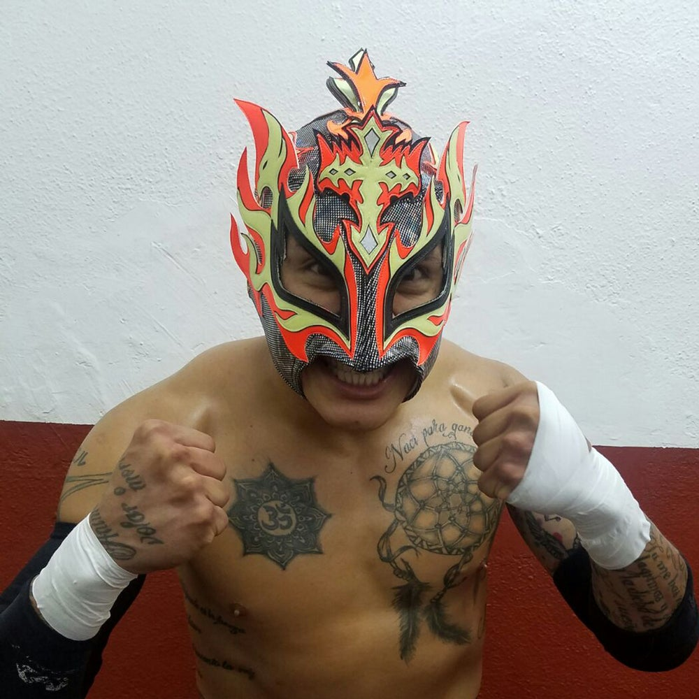 Image of Official Rey Fenix MASK - 1st Version - EXCLUSIVE (NO COUPON CODES)
