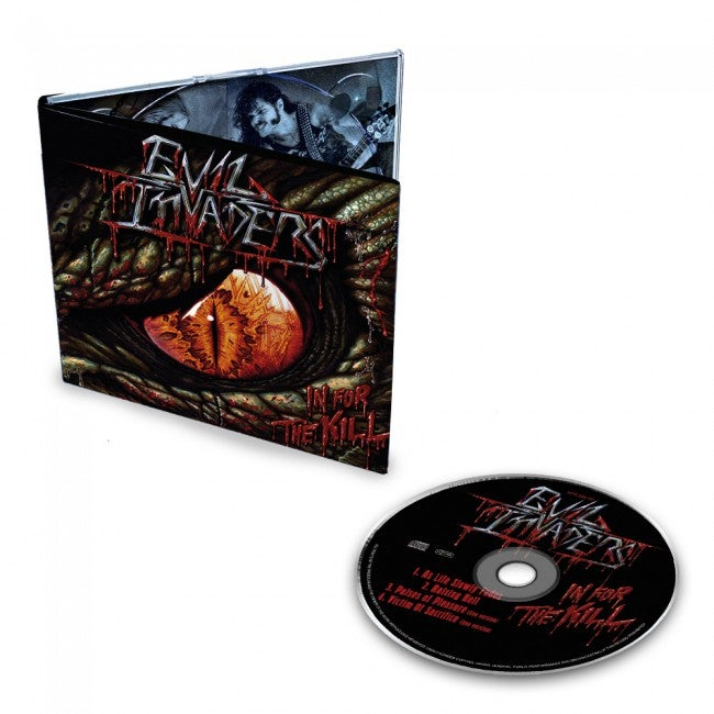 Image of Evil Invaders - In for the Kill CD