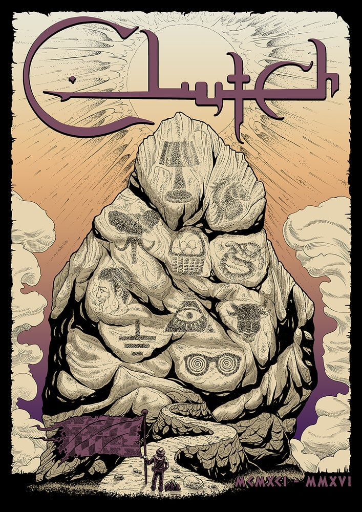 Image of Clutch '25th Anniversary' - Poster **SOLD OUT**