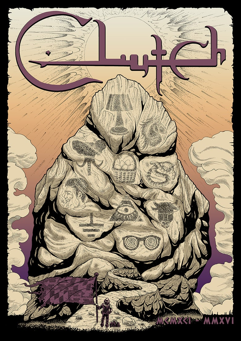 Image of Clutch '25th Anniversary' - Poster