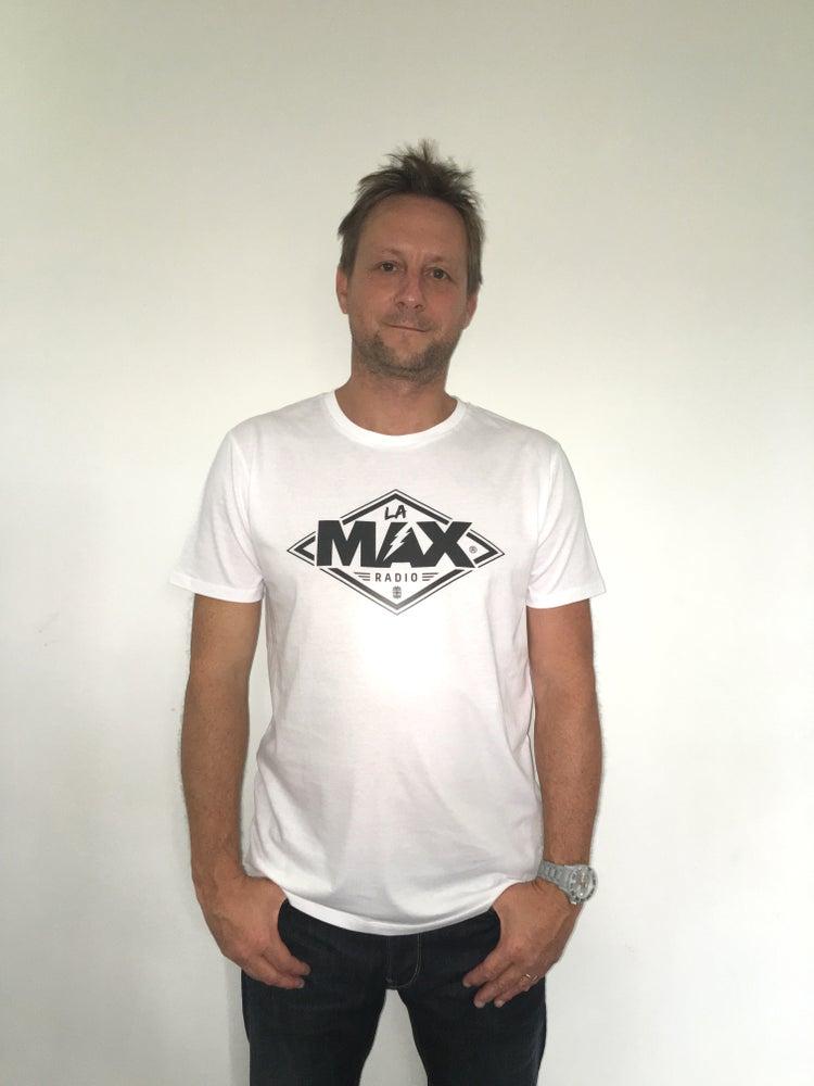 Image of T-shirt HOMME Blanc - La MAX Radio