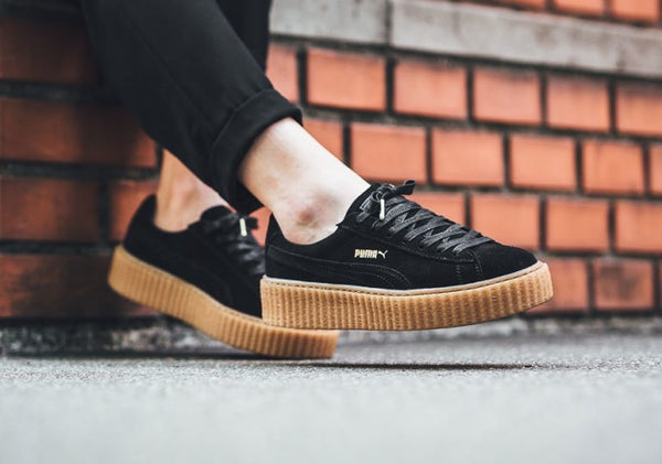 Image of PUMA CREEPERS | BLACK GUM BOTTOM