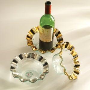 Image of Ruffle Wine Coaster