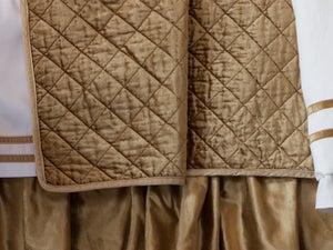 Image of Velvet Quilt - Gold