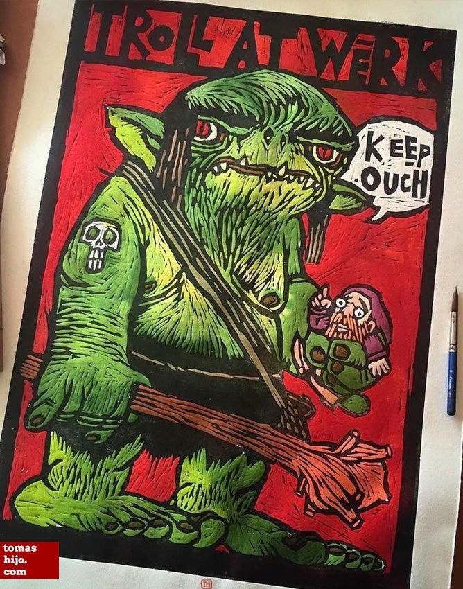 Image of Troll at werk! 2.0