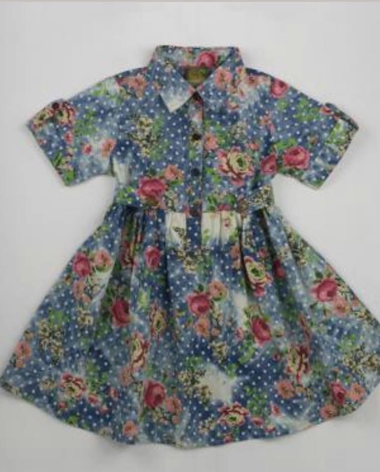Image of Jean Floral Dress