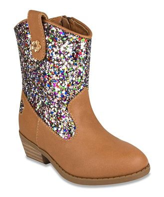 Image of Glitter Carmel Boots